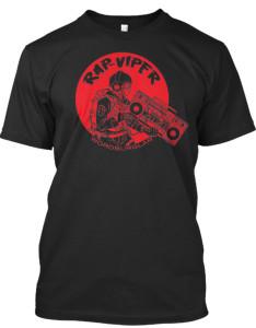 RAP VIPER BLACK teespring