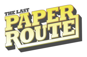 The Last Paper Route Logo by Matt Dawson