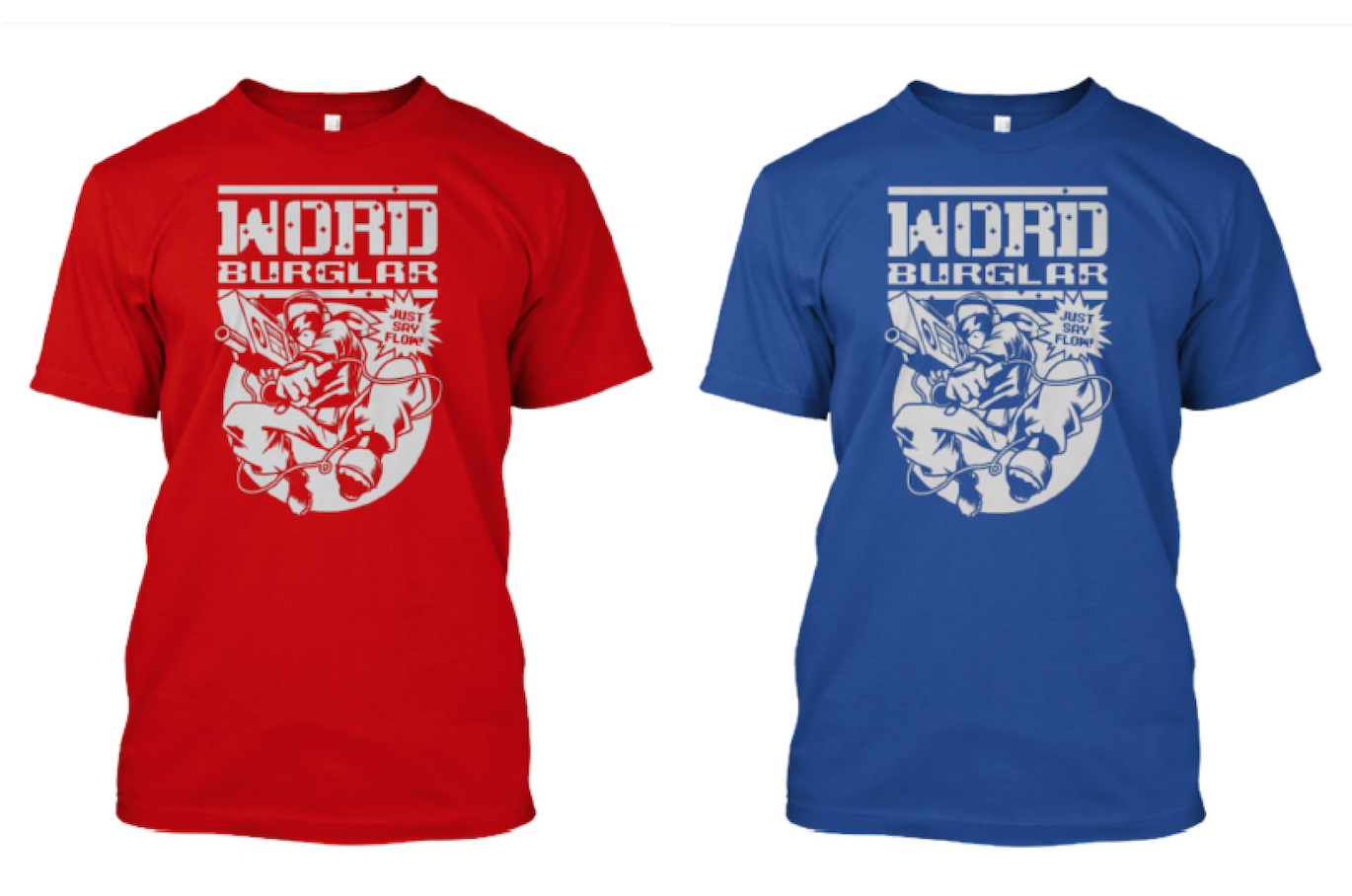 NARC red and blue 2 choices Tee duo